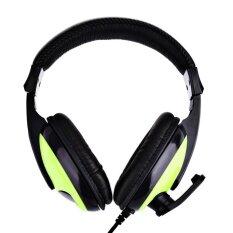 ราคา หูฟัง Kubite T155 3 5Mm Deep Bass Audio Pc Gaming Headset Over Ear Headphones With Mic Intl ใหม่