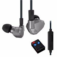 ราคา Kz Zs5 หูฟังมีไมค์ถอดสายได้ รุ่นเทพ Hybrid 4 ไดร์เวอร์ 2Dd 2Ba Kz เป็นต้นฉบับ