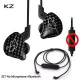 ราคา Kz Zst กระดองหูฟังไดร์เวอร์แบบคู่สายเคเบิลที่ถอดออกได้ในหูฟังระบบเสียงรบกวนการแยกเสียงไฮไฟเพลงหูฟังกีฬา Buletooth เส้น นานาชาติ ใหม่ล่าสุด