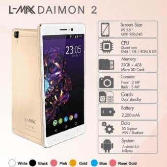 L-max Diamond2-Rose Gold-
