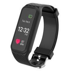 ซื้อ L38I Color Fullscreen Smartband Dynamic Bluetooth Heart Rate Smart Bracelet For Ios And Android Intl ถูก