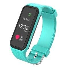 ส่วนลด L38I Color Fullscreen Smartband Dynamic Bluetooth Heart Rate Smart Bracelet For Ios And Android Intl