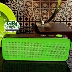 ขาย ลำโพงบลูทูธ ไร้สาย Super Bass ขนาดความยาว 18ซ ม ดีไซน์สวย หรูหรา เบสหนัก เสียงดังกระหึ่ม Wireless Speaker รุ่น Slc 008 Green Unbranded Generic ใน Thailand