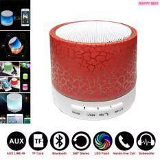 ขาย ลำโพงบลูทูธพกพามีไมค์ในตัว Mini Bluetooth Speaker Build In Microphone มีไมค์ในตัว สีแดง ใน กรุงเทพมหานคร