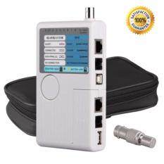 ราคา เครื่อง เทสต์สาย Lan ทดสอบสายแลน 4In1 Remote Rj11 Rj45 Usb Bnc Phone Lan Network Computer Cables Tester Mete ใน กรุงเทพมหานคร