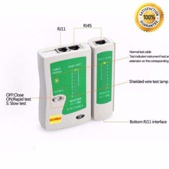 อุปกรณ์ทดสอบสัญญาณสาย Lan/สายโทรศัพท์ Cable Tester ที่เช็คสายแลน