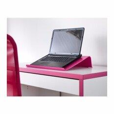 ที่ วาง โน๊ ต บุ๊ค ที่ รอง โน๊ ต บุ๊ค แท่น วาง โน๊ ต บุ๊ค ขา ตั้ง โน๊ ต บุ๊ค โต๊ะ วาง โน๊ ต บุ๊ค บน ที่นอน (สีชมพู) Laptop Computer Support Laptop Computer Stand Macbook Stand Support (pink).