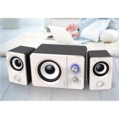ขาย Laptop Desktop 2 1 Multimedia Audio Mini Speaker Subwoofer Intl จีน