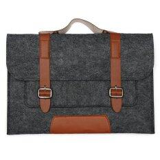 ขาย Laptop Wool Felt Bag Case For Apple 11 Macbook Air Deep Grey