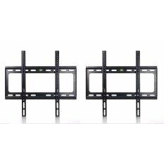 ซื้อ ชุดขาแขวนทีวี Lcd Led เเพ็คคู่ 2 ชิ้น ขนาด 26 55 นิ้ว Tv Bracket แบบติดผนังฟิกซ์ Black ออนไลน์ กรุงเทพมหานคร