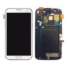อะไหล่มือถือจอแสดงผล LCD+ทัสกรีน Samsung Galaxy Mega 6.3-สีขาว i9200  รุ่น MLSA206W
