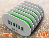 ราคา Ldnio A6702 Eu Us Uk Au 6 Usb Multi Ports Charging Station Smart Adaptive 7A Desktop Fast Charger For Iphone 7 6 5 Ipad For Samsung Phone Tablets Intl Ldnio ออนไลน์