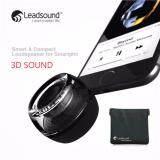 ซื้อ Leadsound ลำโพงพกพา 3D ลำโพง Bluetooth เครื่องขยายเสียงแบบพกพา สีดำ ออนไลน์