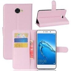 ราคา กระเป๋าใส่มือถือหนังสำหรับ Huawei Y7 นานาชาติ Unbranded Generic จีน