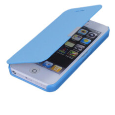 ราคา Leather Hard Cover For Iphone 5 5S Se 5G Blue ใหม่