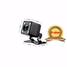กล้องมองหลังกันน้ำ ใช้กับกล้องติดรถยนต์  ไฟ LED รองรับกับ Anytek