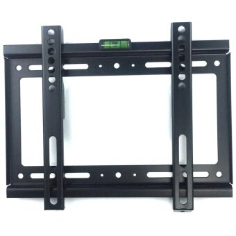 ขาแขวนทีวี ติดผนัง LED LCD TV ขนาด 14\ -42\ Fix TV wall Mount 14\-42\tv bracket Flat Panel LED LCD TV(Black)