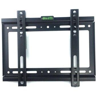 ขาแขวนทีวี ติดผนัง LED LCD TV ขนาด 14\ -42\ Fix TV wall Mount 14\-42\tv bracket Flat Panel LED LCD TV(Black)