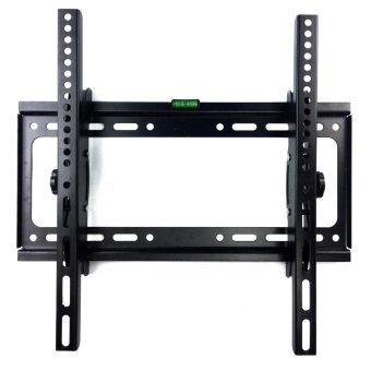 ขาแขวนทีวี จอปรับก้มเงยได้ ติดผนัง LEDLCDTV ขนาด 26\ -60\ Tilting Wall Mount tv bracket Flat panel tv wall mount Panel LED LCD TV(Black)
