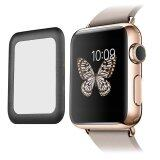 Leegoal Apple Watch 42Mm Screen Protector Series 2 2Mm Ultra Thin Hd Clear Tempered Glass Screen Protector Full Coverage Anti Bubbles Scratch Resistant Black Intl ใน จีน
