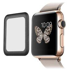 Leegoal Apple Watch 42Mm Screen Protector Series 2 2Mm Ultra Thin Hd Clear Tempered Glass Screen Protector Full Coverage Anti Bubbles Scratch Resistant Black Intl เป็นต้นฉบับ