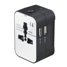 ราคา Leegoal Universal Travel Adaptor Universal Conversion Charging Socket Uk Usa Eu Cn Adaptor Travel Plug And Socket Black White Intl Leegoal ออนไลน์