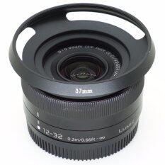 เลนส์ฮูด Leica 37mm (ไม่ติดขอบดำ) สำหรับเลนส์ Panasonic 12-32 F3.5-5.6.