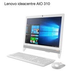 "Lenovo IdeaCentre All-in-One 310- F0CK0015TA E2-9000/4GB/500GB/DOS/19.5""/1Y - White"