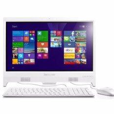"LENOVO IdeaCentre C20-00 (F0BB00XVTA) P.J3710 4GB 1TB WINDOWS10 19.5"" (WHITE)"