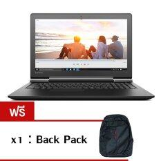 "Lenovo IdeaPad 700-15(80RU000RTA) i7-6700HQ 4GB 1TB N16P-GT4GB 15.6"" Win10 (Black) ฟรี 1X: Back Pack"