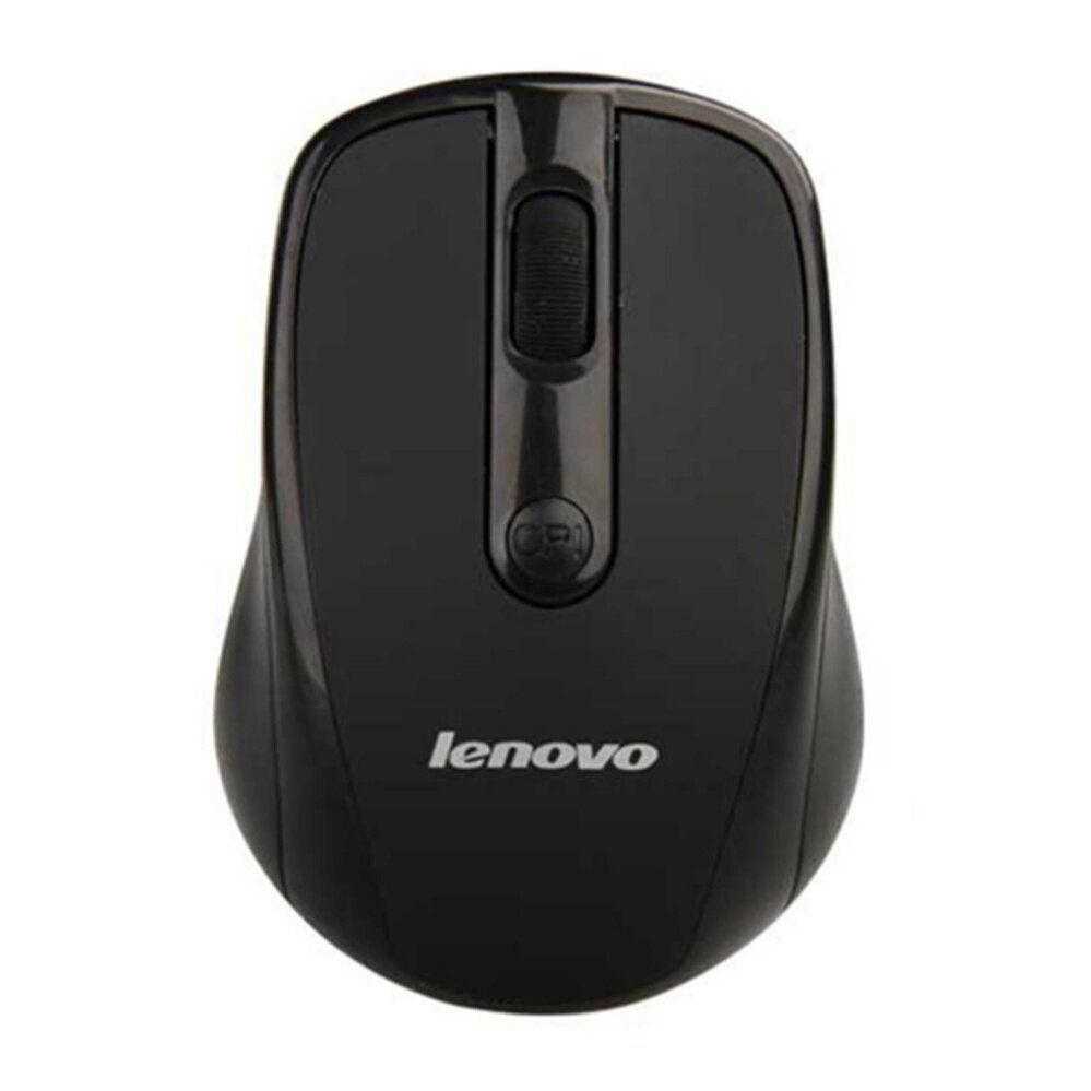 Lenovo Wireless Optical Mouse 3100 (สีดำ)