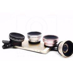 เลนส์ lens super wide angle 0.45x & macro (สีชมพูrose).