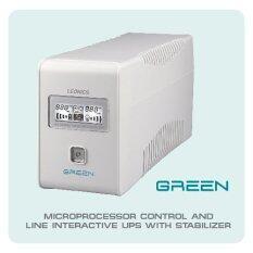 LEONICS เครื่องสำรองไฟฟ้า UPS GREEN-800 B  800VA / 400W