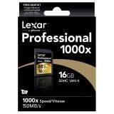 โปรโมชั่น Lexar 16Gb Sdhc Professional 1000X 150Mb S ถูก