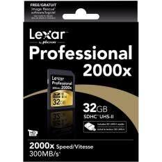 ราคา Lexar 32Gb Sdhc Professional 2000X 300Mb S ออนไลน์ Thailand