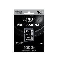 ขาย Lexar Professional 1000X 16Gb Sdhc Uhs Ii U3 Card Up To 150Mb S Read เป็นต้นฉบับ