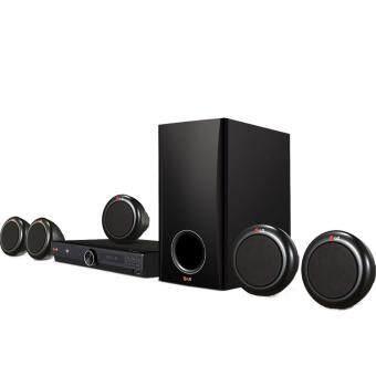 LG ชุด Home Theater 5.1Ch 300 watts DVD รุ่น DH3140S (Black)