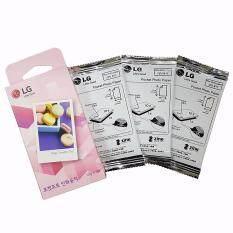 ซื้อ Lg Ps2203 Pocket Photo Zink Ink Printer Paper 30 Sheets 2X3 For Pd221 Pd239 Pd251 Android Ios ออนไลน์ เกาหลีใต้