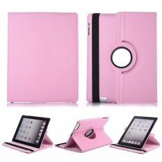 Librarycase เคสไอแพด 2/3/4 หมุนแนวตั้งและนอนได้ 360 องศา For Apple iPad 2/3/4 case - Light Pink/สีชมพูอ่อน