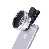 ขาย Lieqi Lq 027 2 In 1 เลนส์ครอบกล้องมือถือ Super Wide Angle Lens 10X Macro Lens Camera Lens For Iphone Ipad Samsung S6 S7 S7 Edge Smartphone สีเงิน กรุงเทพมหานคร ถูก