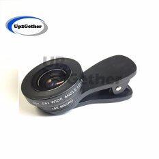ซื้อ Lieqi Lq 034 Original เลนส์เสริมมือถือ 2In1 Super Wide Angle 6X Macro 15X Lens สีดำ ออนไลน์ ไทย
