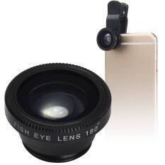ราคา Lieqi Lq 180 Universal 180 Degree Clip On Photo Fisheye Lens Intl ใหม่ล่าสุด