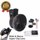 ขาย Lieqi รุ่น Lq 027 เลนส์เสริมมือถือ 2 In 1 Super Wide Angle 45X Macro 10X Lens เป็นต้นฉบับ