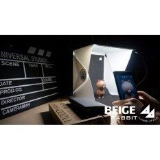ขาย กล่องถ่ายภาพสินค้า Light Room Box ขนาด 22 6X23X 24Cm ฉากหลังสีขาว ดำ Led Kit Micro Usb None เป็นต้นฉบับ