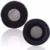 โปรโมชั่น Lightning Power 1 Pair Black Color Velvet Replacement Earpad Ear Pad Cushion For Akg K 240 Studio Headphones Black Intl ถูก