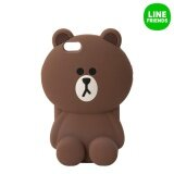 ซื้อ Line Friends Iphone 6 6S Silicone Case Mega Brown 2 ใหม่