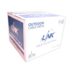 ซื้อ Link สายแลน Cat6 305ม Outdoor มีสลิง รุ่น Link Us 9106M ถูก สมุทรปราการ