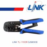 ขาย Link Tl 1103R Us8003 คีมเข้าหัวแลนและโทรศัพท์ Rj45 Rj11 Crimp Tool Link เป็นต้นฉบับ