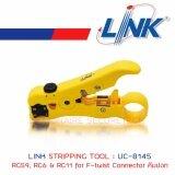 ราคา Link Uc 8145 Stripping Tool Rg59 Rg6 Rg11 For F Twist Connector คีมปอก กรุงเทพมหานคร