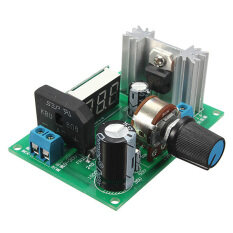 ขาย Lm317 Adjustable Voltage Regulator Step Down Power Supply Module With Led Meter ราคาถูกที่สุด